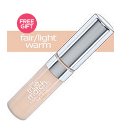 L'Oreal True Match Concealer Fair Light Warm