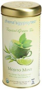 Zhena's Gypsy Tea Tropical Green Tea Mojito Mint