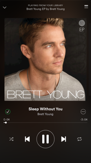 Brett Young - Sleep With Out You