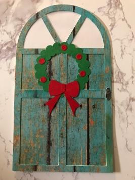 teal-rustic-door-christmas-card